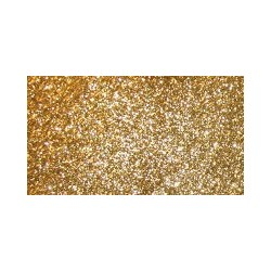 Guma zamszowa z brokatem (mikroguma) - 20x29 cm złota