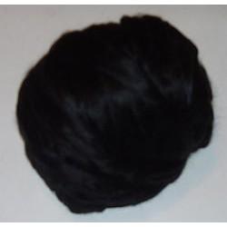 Jedwab do filcowania 10 g - czarny