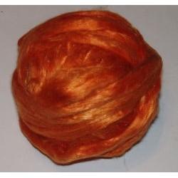 Jedwab do filcowania 10 g - pomarańczowy