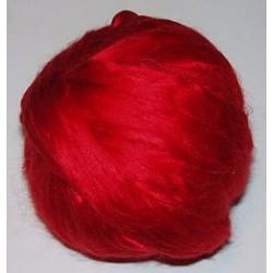 Jedwab do filcowania 10 g - czerwony