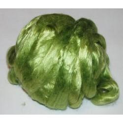 Jedwab do filcowania 10 g - kiwi