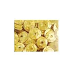Cekiny holograficzne złote-jasne 6gr