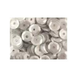 Cekiny metaliczne srebrne matowe 6gr