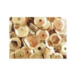 Cekiny metaliczne jasno-złote 6gr