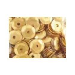 Cekiny metaliczne złote matowe 6gr