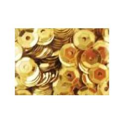 Cekiny metaliczne złote blyszczące 6gr
