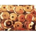 Cekiny metaliczne jasno-brązowe 6gr