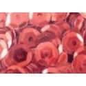 Cekiny metaliczne jasno-czerwone 6gr