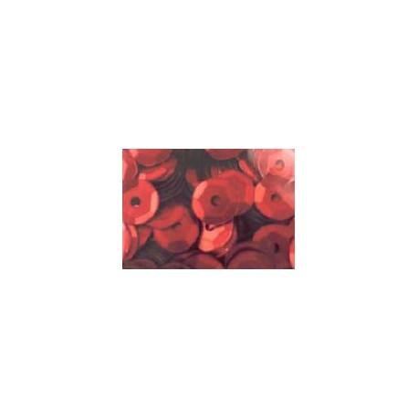 Cekiny metaliczne czerwone matowe 6gr
