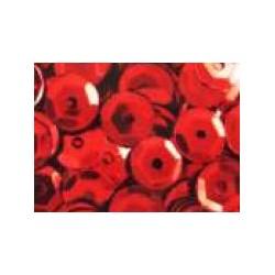 Cekiny metaliczne czerwone 6gr