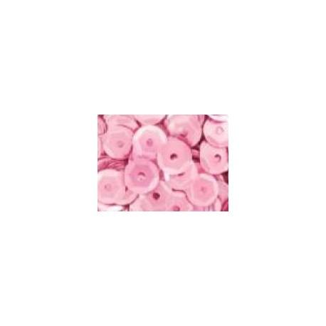 Cekiny metaliczne jasno-różowe matowe 6gr