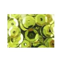 Cekiny metaliczne jasno-zielone matowe 6gr