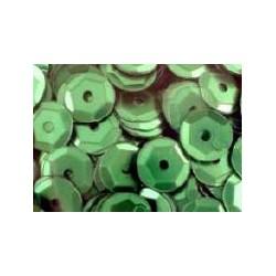 Cekiny metaliczne szmaragdowe-matowe 6gr