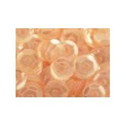 Cekiny transparentne łososiowe 6gr