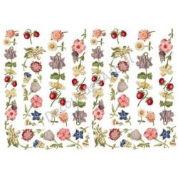 Papier do decoupage ITD 001 - Wiosenne kwiatki