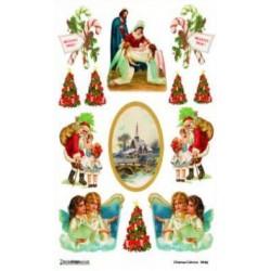 Papier ryżowy Decoudesigns do decoupage Boże Narodzenie 12