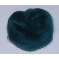 Czesanka merynos australijski 50g - 1208 niebiesko-zielony