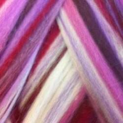 Czesanka merynos australijski 25g - multicolor Wildbeere