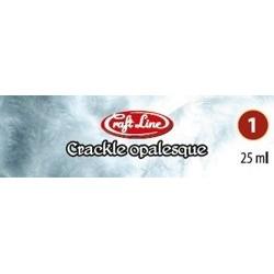 CRACKLE OPALESQUE 2x25ml - preparat do spękań na szkle