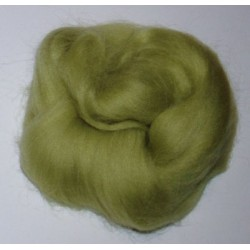 Czesanka alpejska 10g - delikatnie-zielona