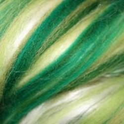 Czesanka merynos australijski plus jedwab melanż 10g - przytulia