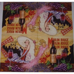Serwetki do decoupage - Moulin Rouge