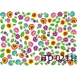 Papier do decoupage ITD 211 - Łowickie wycinanki