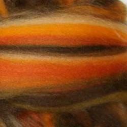 Czesanka merynos australijski 10g - multicolor granat