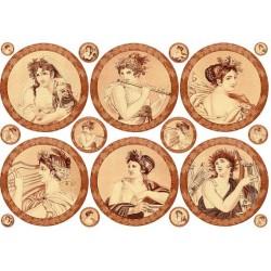 Papier Calambour Antique Decorations 05 - Roma 5