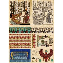 Papier Calambour Antique Decorations 09 - Egyptian 2