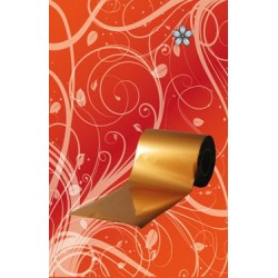 Folia w rolce (miedź) 10m - Roll Leav (copper)