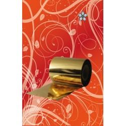 Folia w rolce (złoto) 10m - Roll Leav (gold)