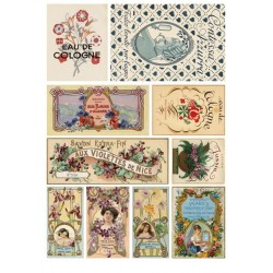 Papier ryżowy Calambour 27 - Etykiety z perfum