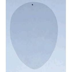 Płytka do zdobienia jajko 9,5x7 cm