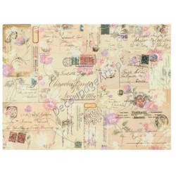 Papier do decoupage Digital Collection DGE20 - Listy