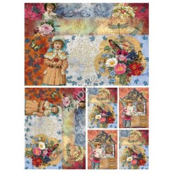Papier do decoupage Digital Collection DGE62 - Dzieci