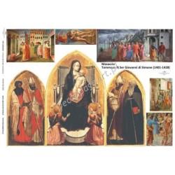 Papier do decoupage ITD 280 - Ikona Masaccio