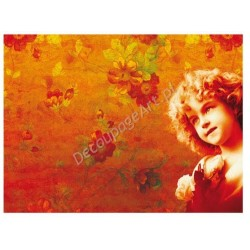 Papier ryżowy do decoupage Digital Collection 028 Dziewczynka
