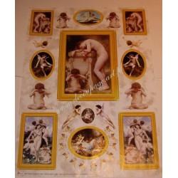 Papier Celina do decoupage 50 x 70 cm Cupid and Venus