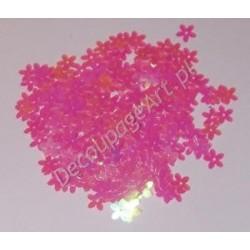 Cekiny kwiatki opalizujące 29 różowe 6gr