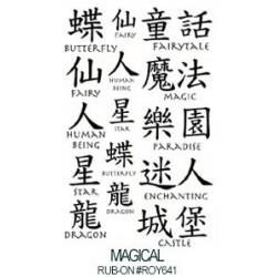 Kalkomania artystyczna - Magical