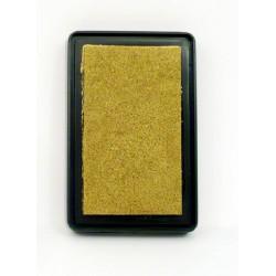 Tusz do stempli złoty metaliczny