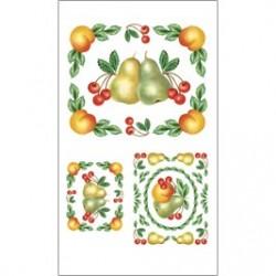 Kalkomania artystyczna - Delicious Fruit