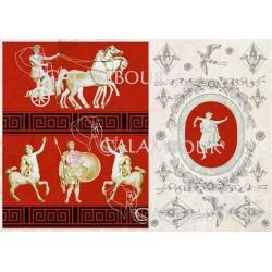 Papier Calambour Antique Decorations 01 - Roma 1