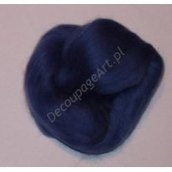 Czesanka merynos australijski 10g - 6127 niebiesko-szary