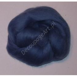 Czesanka merynos australijski 10g - 6407 jasno-niebieski