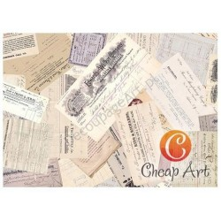 Papier do decoupage soft Cheap-Art A3 Antykwariat