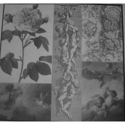 Papier do decoupage Dayka 210 Róża i anioły