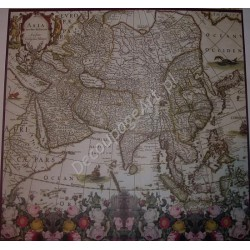 Papier do decoupage Dayka 217 Mapa