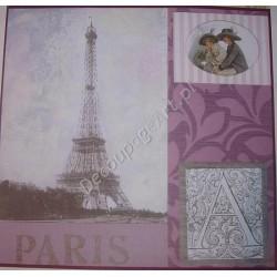 Papier do decoupage Dayka 244 Paryż
